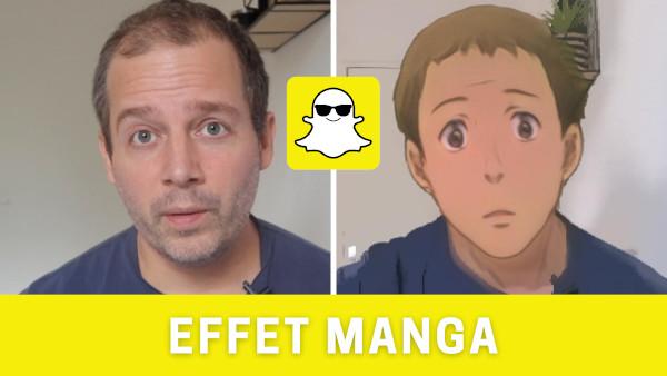 Filtre Manga TikTok Instagram