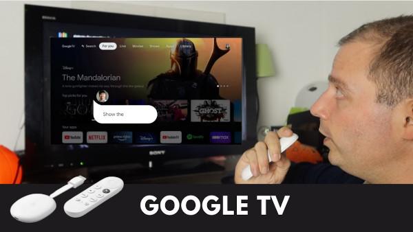 Chromecast avec Google TV
