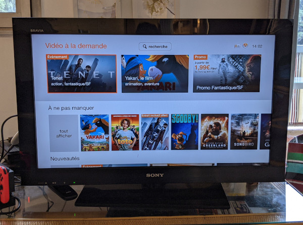 Offre VOD d'Orange