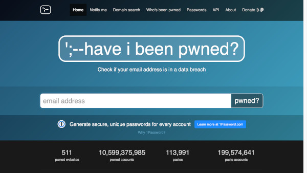 site have i been pwned