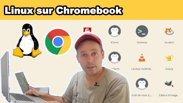 Linux sur Chromebook